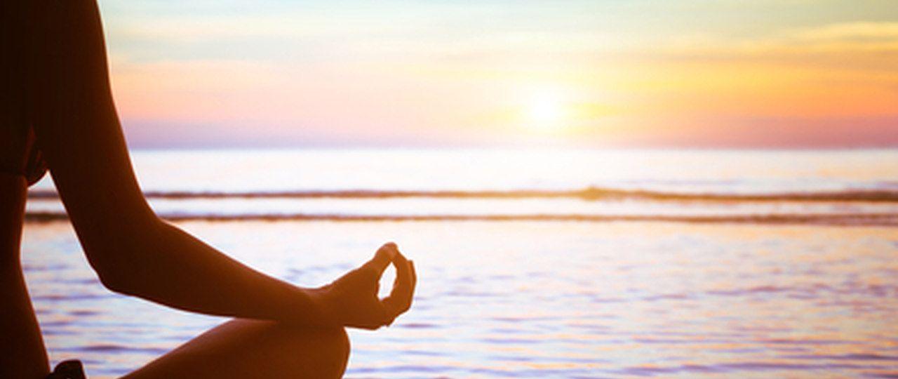 Meditating at Sunrise