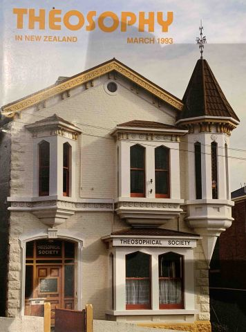 Theosophy in New Zealand March 1993